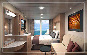 Celebrity Eclipse Deluxe Ocean View W/Veranda