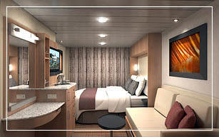Celebrity Eclipse Ocean View Stateroom