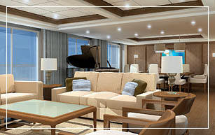 Celebrity Eclipse Penthouse Suite