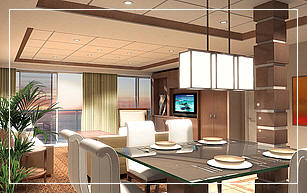 Celebrity Eclipse Royal Suite
