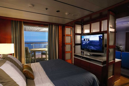 Celebrity Century Royal Suite
