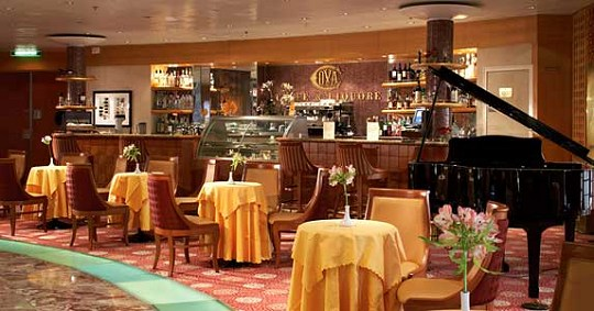 Celebrity Century Cova Cafe Lounge