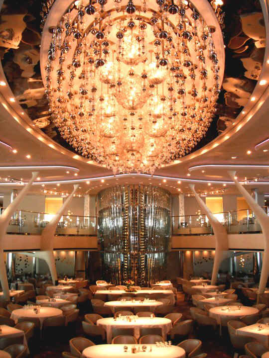 Celebrity Solstice Grand Épernay Dining Room